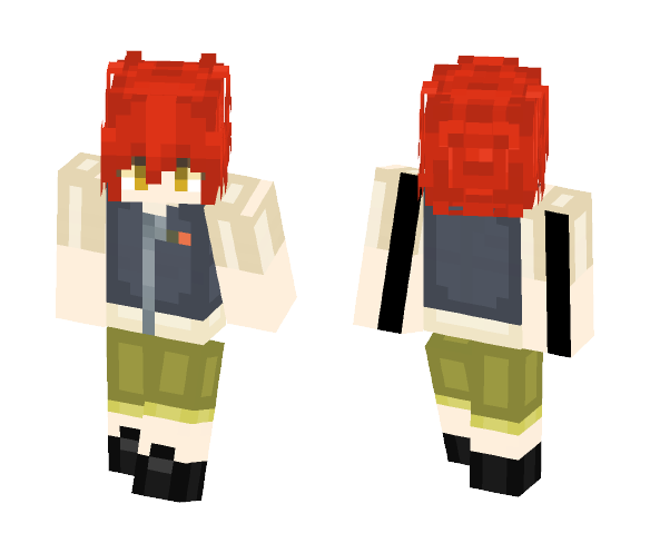 Inazuma Eleven Torch/Burn ~ - Male Minecraft Skins - image 1