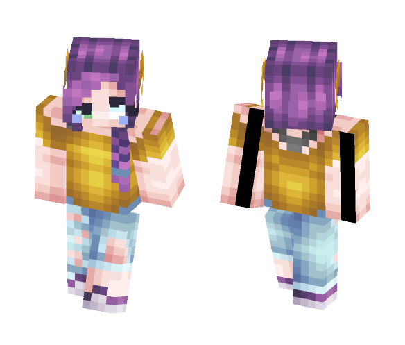 Message Man - Ada (OC) (info added) - Female Minecraft Skins - image 1