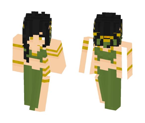Goddess Carellith [LOTC] - Female Minecraft Skins - image 1