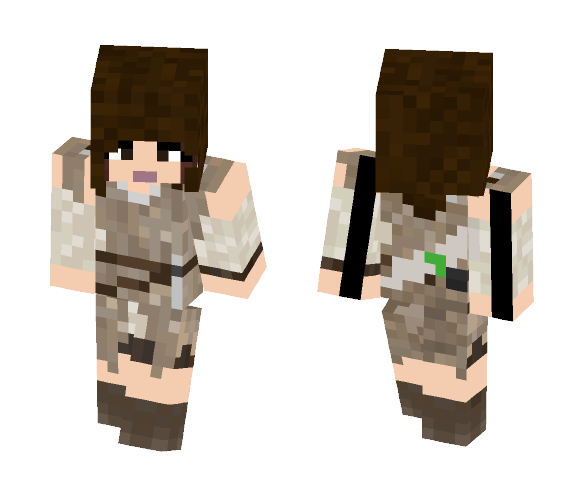 Ray - Female Minecraft Skins - image 1
