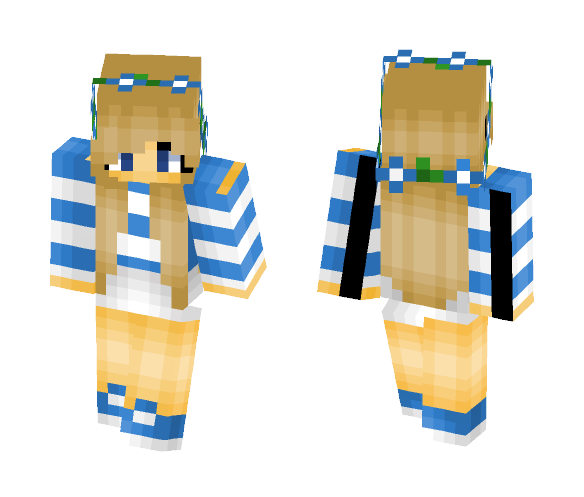 Little Carly - Female Minecraft Skins - image 1