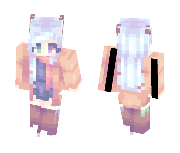 Yukimi Kablamo - Fan Skin - Female Minecraft Skins - image 1