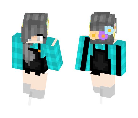 _+SUNSHINE+_ Flower crown Girl - Flower Crown Minecraft Skins - image 1