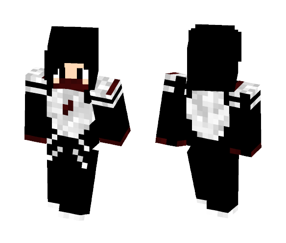 Silk (Shaded): Comics - MrFlameYT - Female Minecraft Skins - image 1