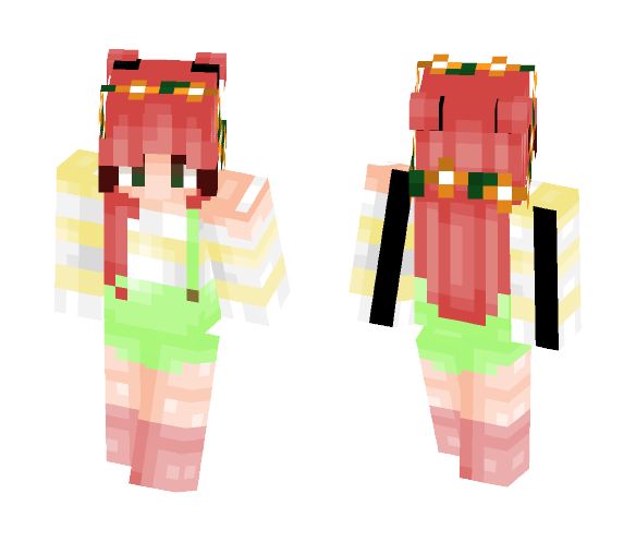 Summer fun - Female Minecraft Skins - image 1