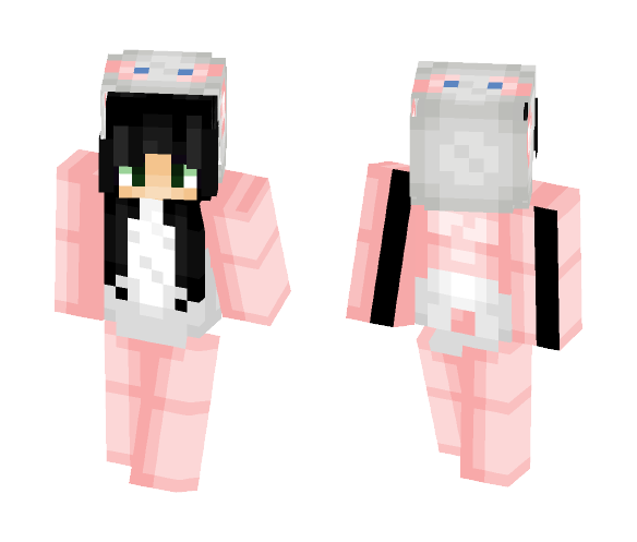 Cute panda onesie - Female Minecraft Skins - image 1