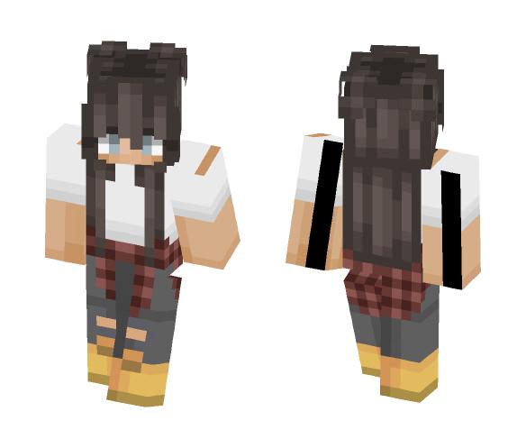Hiker ~ - Female Minecraft Skins - image 1