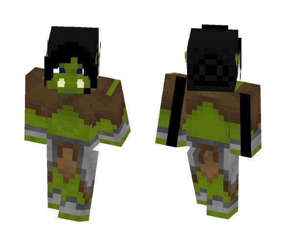 Tribal Female Goblin [LoTC] - Female Minecraft Skins - image 1
