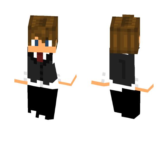 President Zach (Request) - Male Minecraft Skins - image 1