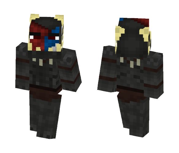 Ram Uruk Leader Face paint [LoTC] - Male Minecraft Skins - image 1