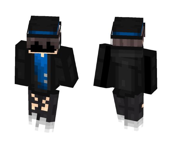 RingMaster [blue] - Female Minecraft Skins - image 1