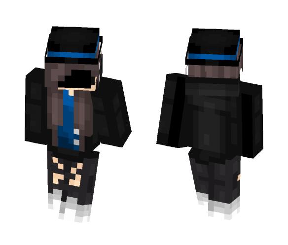 Ms Ringmaster [blue] - Female Minecraft Skins - image 1