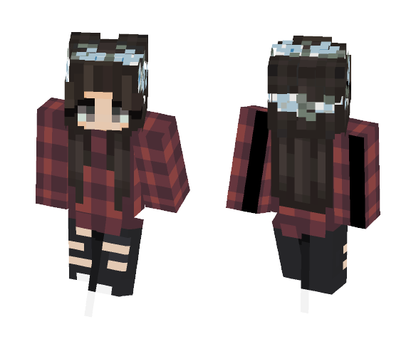 Annoyed (Request/Challenge) - Female Minecraft Skins - image 1