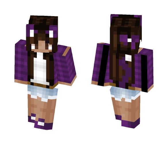 Cat Girl - Cat Minecraft Skins - image 1