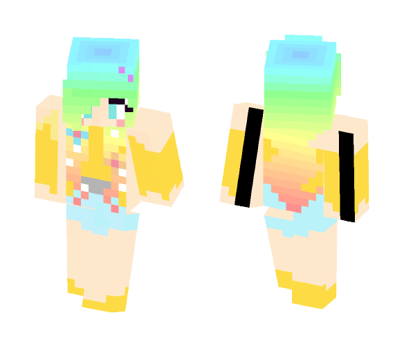 hi haha - Female Minecraft Skins - image 1