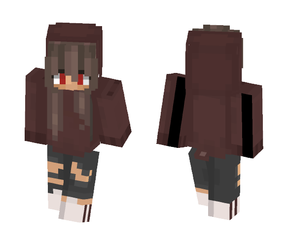 Red - Female Minecraft Skins - image 1