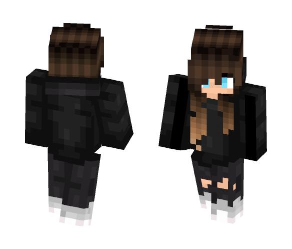 Backwards Girl (Good for PVP) - Girl Minecraft Skins - image 1