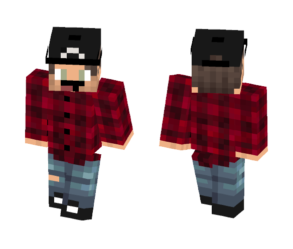 Black Cap - Male Minecraft Skins - image 1