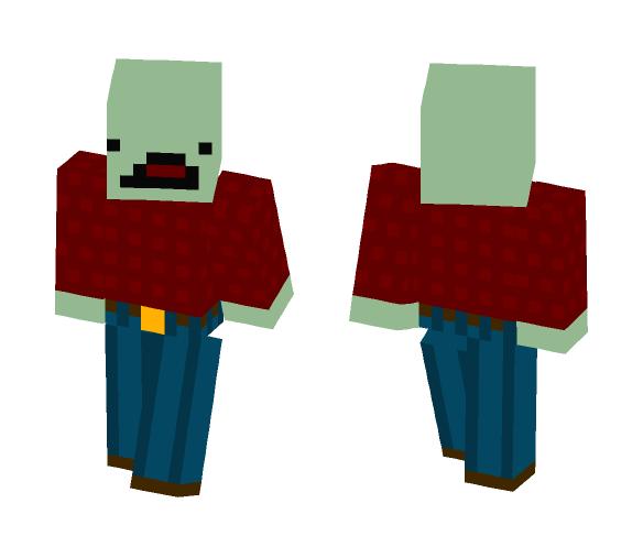 Unturned Zombie Skin (Flannel) - Interchangeable Minecraft Skins - image 1
