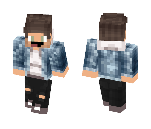 Jean Jacket - Male Minecraft Skins - image 1