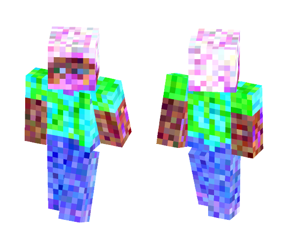 Weird Pixelated Steve - Male Minecraft Skins - image 1