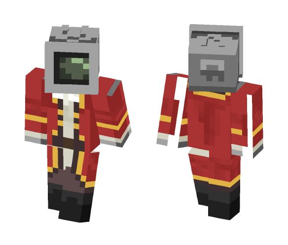 tv pirate - Interchangeable Minecraft Skins - image 1