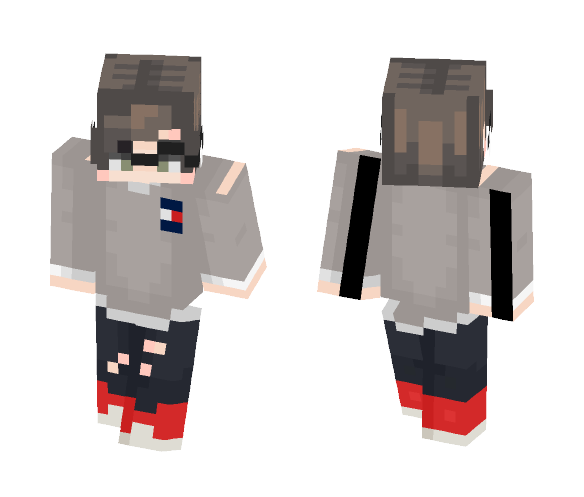 Tommy Hilfiger Sweater - Male Minecraft Skins - image 1