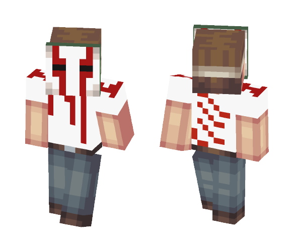 Scary costume - Male Minecraft Skins - image 1