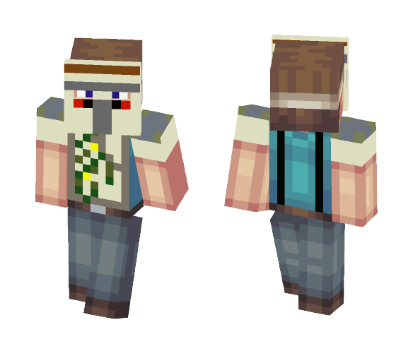 Iron Golem costume Skin - Male Minecraft Skins - image 1