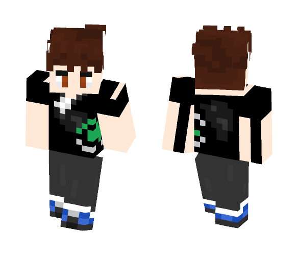 Christopher (A skin for my friend) - Male Minecraft Skins - image 1