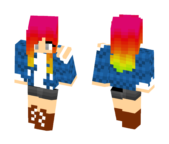 Fabulous - Female Minecraft Skins - image 1