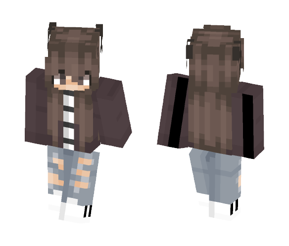 Request 2 ~Dat_Pusheen~ - Female Minecraft Skins - image 1