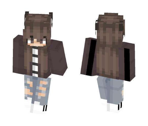 Request 2 ~Dat_Pusheen~ - Female Minecraft Skins - image 1