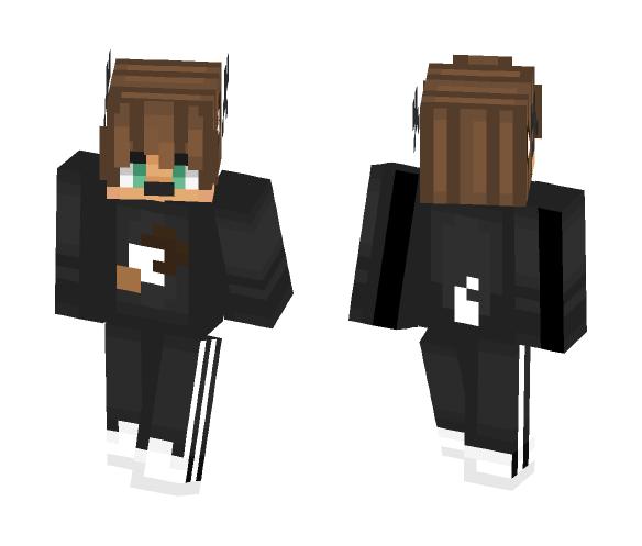 | First skin! | Hazelnut wishes - Male Minecraft Skins - image 1