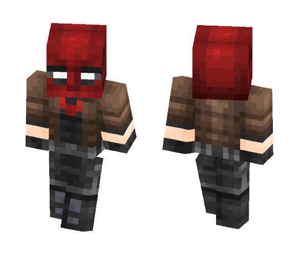 Red Hood Revamped (DC Rebirth) - Comics Minecraft Skins - image 1
