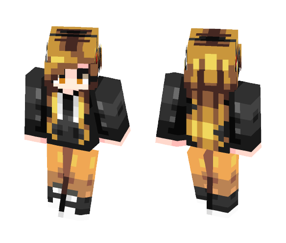 Electricity - Female Minecraft Skins - image 1