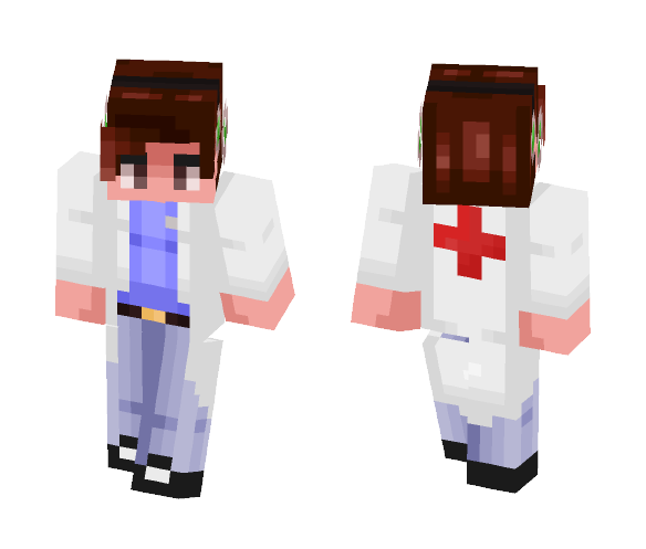 DrRedSkull request - Male Minecraft Skins - image 1