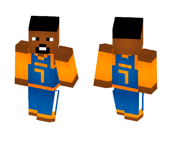 Carmelo Anthony [KNICKS] - Male Minecraft Skins - image 1