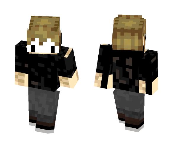 Masked hoodie - Male Minecraft Skins - image 1