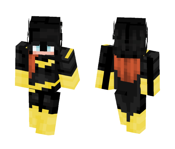 Batgirl - Female Minecraft Skins - image 1