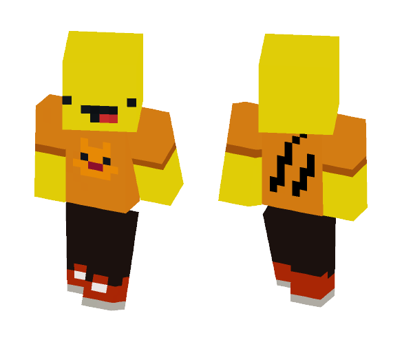 Mysterious Claws - Male Minecraft Skins - image 1