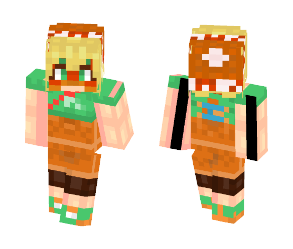Min Min - ARMS - Female Minecraft Skins - image 1