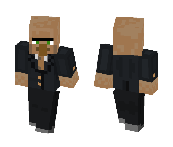 villager in a suit - Male Minecraft Skins - image 1