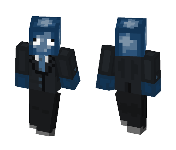 squid in a suit - Other Minecraft Skins - image 1