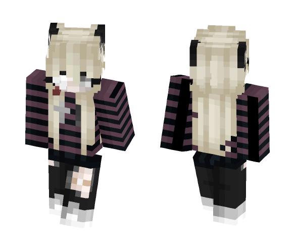 Suicide Room Girl - Girl Minecraft Skins - image 1