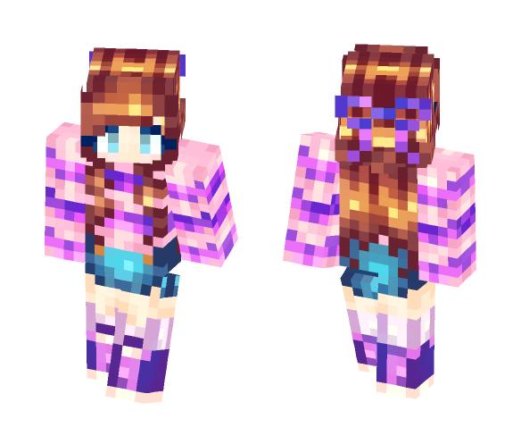 bAka u r00D1!!! - Female Minecraft Skins - image 1