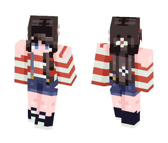 Happy Fourth! :D - Female Minecraft Skins - image 1
