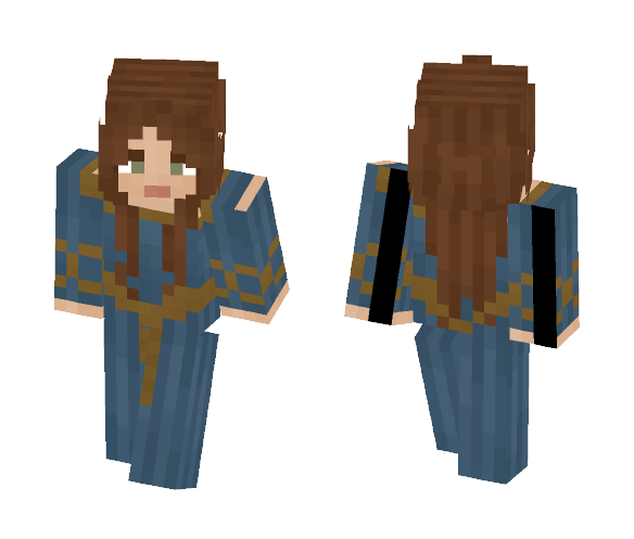 Medieval Woman - Female Minecraft Skins - image 1