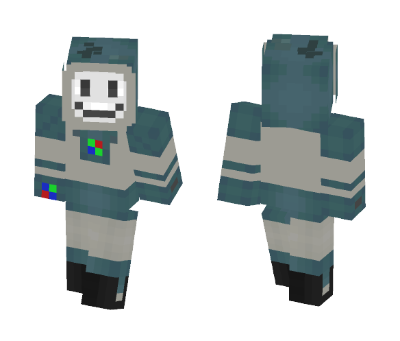 Yes-Man from Fallout : New Vegas ! - Male Minecraft Skins - image 1