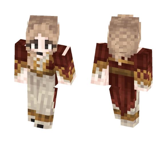 Crimson. - Female Minecraft Skins - image 1